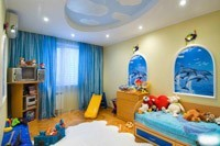 Ремонт и отделка детской комнаты в Екатеринбурге